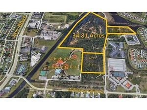 Fort Myers, Florida- Lakefront development opportunity- 50 Acres