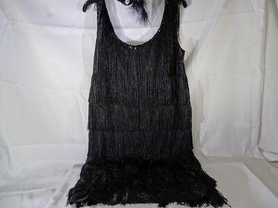 1920's Fashion Flapper Adult Costume Medium 8-10 T1