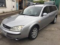 Cheap car of the day 2003 Ford Mondeo diesel, starts and drives, car located in Gravesend Kent, any
