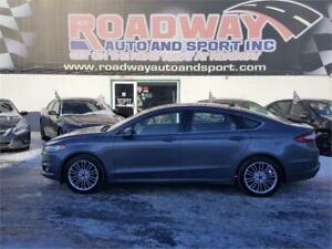 2014 Ford Fusion SE, NSV, LEATHER, SUNROOF