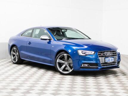 2015 Audi S5 8T MY15 3.0 TFSI Quattro Blue 7 Speed Auto Direct Shift Coupe