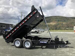 2019 7x12 14K TELESCOPIC HOIST DUMP TRAILER