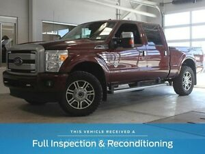 2016 Ford F-350 Platinum-6.7L Diesel-Moon Roof-Nav