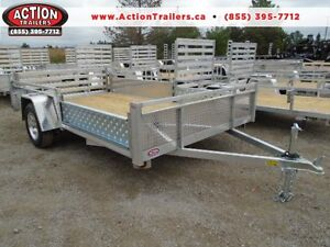 FULLY LOADED 12FT ALUMINUM UTILITY - THIS ONE WONT LAST LONG!