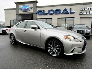 2015 Lexus IS 250  AWD F-SPORT FULLY LOADED