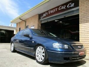 2004 Ford Falcon BA XT Blue 4 Speed Sports Automatic Sedan