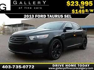 2013 Ford Taurus SEL $149 BIWEEKLY APPLY NOW DRIVE NOW