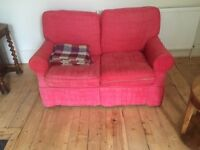 Red sofabed - FREE for collection