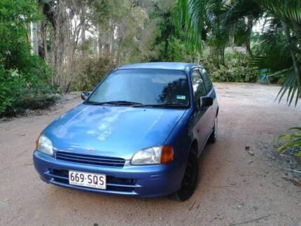 1997 Toyota Starlet Hatchback Mysterton Townsville City Preview