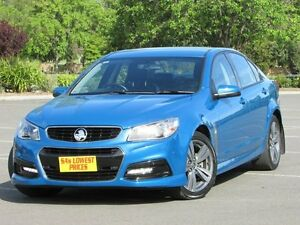 2013 Holden Commodore VF MY14 SV6 Blue 6 Speed Sports Automatic Sedan Blair Athol Port Adelaide Area Preview