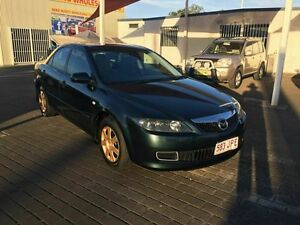 2005 Mazda 6 GG Classic Green 4 Speed Auto Activematic Sedan Coopers Plains Brisbane South West Preview