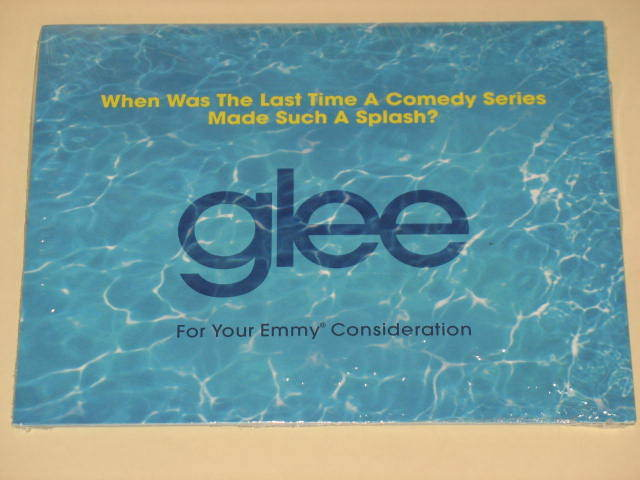 2012 GLEE Tv Show FYC Emmy Nominee dvd  Fox For Your Consideration NEW & RARE
