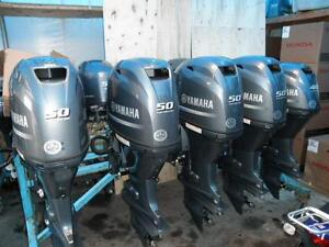 2016 YAMAHA F50- 4 STROKE OUTBOARD WITH 174 HOURS