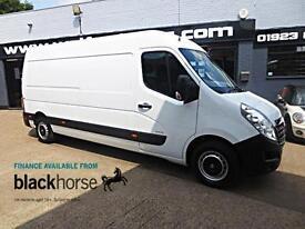 2013 Vauxhall Movano 2.3CDTi 100ps L3H2 LWB A/C Park/Sens E/Pack Diesel white Ma
