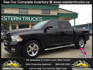 2011 Ram 1500 Sport 4x4 ~ Alpine Sound ~ Onlly 81K ~ $235 B/W