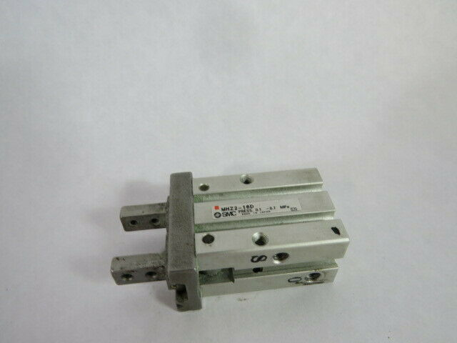 SMC MHZ2-16D Parallel Gripper Actuator 16mm Bore 6mm Stroke  USED