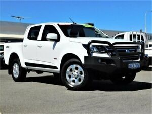 2019 Holden Colorado RG MY19 LS Pickup Crew Cab White 6 Speed Sports Automatic Utility Bibra Lake Cockburn Area Preview