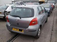 TOYOTA YARIS T3 1296 CC PETROL 2006 REG 5 DOOR (BREAKING ALL PARTS AVAILABLE)