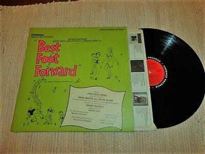 BEST FOOT FORWARD - Original Cast LP