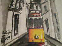 Original Painting of Portugal - Signed by Artist