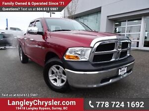 2012 RAM 1500 ST ACCIDENT FREE w/ 4X4 & TOW PACKAGE