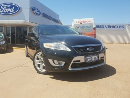 2008 Ford Mondeo MA XR5 Turbo Black 6 Speed Manual Hatchback South Kalgoorlie Kalgoorlie Area Preview