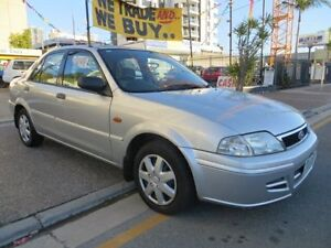 2001 Ford Laser KN LXI Silver 5 Speed Manual Sedan Southport Gold Coast City Preview
