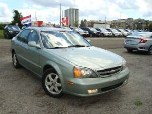 2004 Chevrolet Epica LT Only 141km Leather & Sunroof