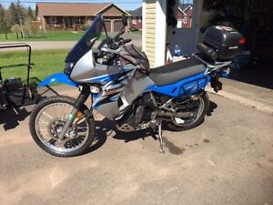 2008 Kawasaki KLR with extras