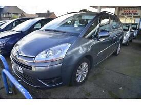 CITROEN C4 GRAND PICASSO 2.0HDi 16V VTR Plus EGS Automatic (7 SEATER) (grey) 2007