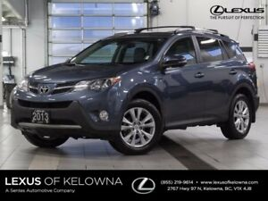 2013 Toyota Rav4 Limited w/Navigation and Winter Tire Package