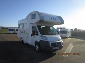 2010 CI CARIOCA 706 6 BERTH MOTORHOME WITH 39K MILES ANDERSON CARAVAN AND MOTORHOME SALES