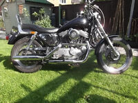 Harley Davidson 1200 Sportster, Lots of Improvements, Great Brakes, Great Suspension, Great Bike.