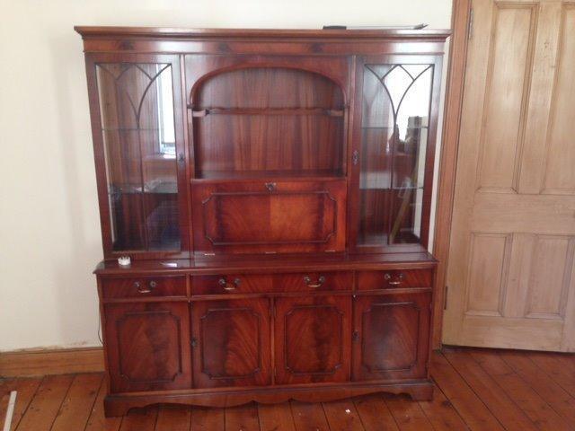 Mahogany Bradley Furniture Limited Display Cabinet