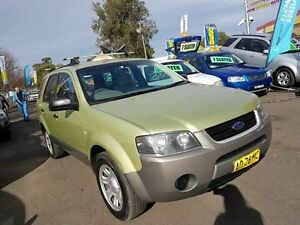 2005 Ford Territory SX TX (RWD) Green 4 Speed Auto Seq Sportshift Wagon Campbelltown Campbelltown Area Preview