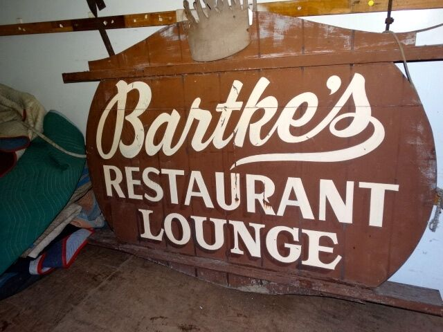 ORIGINAL   LARGE  2  SIDED  ADVERTISING  SIGN