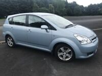 JUNE 2007 TOYOTA COROLLA VERSO 2.2D-4D T3 FINANCE AVAIL MOT TO JUNE 2019 VERY GOOD CONSITION 7 SEATS