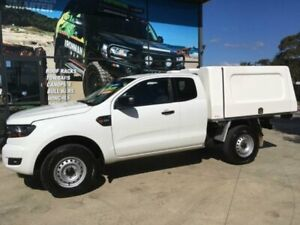 2016 Ford Ranger PX MkII XL 3.2 (4x4) White 6 Speed Manual Super Cab Chassis Tuncurry Great Lakes Area Preview
