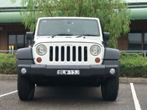 2009 Jeep Wrangler JK Sport White Automatic Softtop