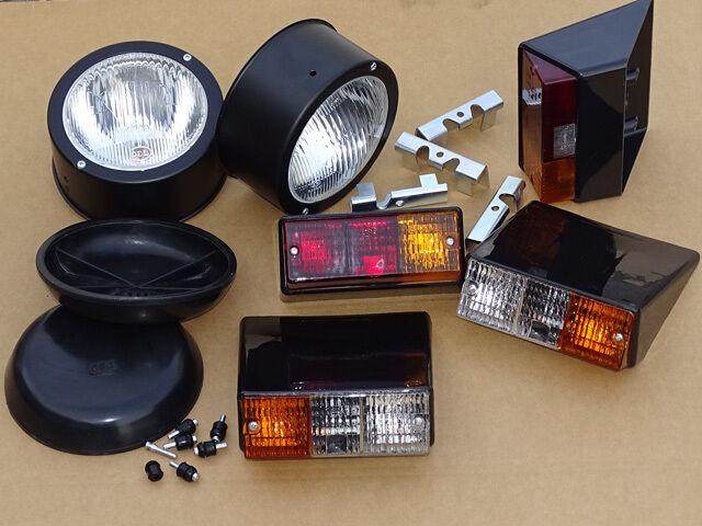 24-tl. Angebot Beleuchtung Set für Deutz 06 Serie Traktor Leuchte + Scheinwerfer Foto 1