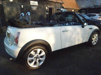 56 MINI MINI 1.6 ONE PEPPER PACK CONVERTIBLE PEPPER WHITE 65K FSH JUST SERVICED