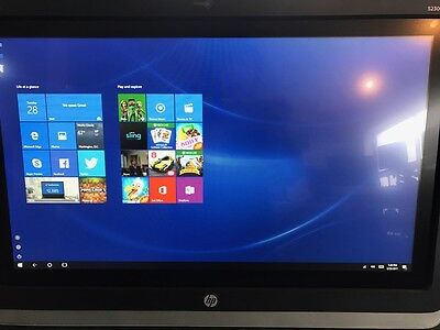 "HP EliteDisplay LED Touch Screen Monitor S230TM 23"", built-in speaker, camera"