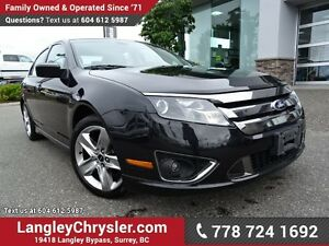 2012 Ford Fusion Sport ACCIDENT FREE w/ ALL-WHEEL DRIVE, LEAT...