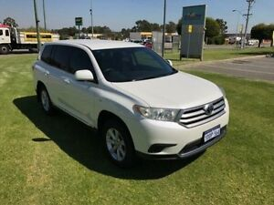 2011 Toyota Kluger GSU40R MY11 Upgrade KX-R (FWD) 5 Seat Pearl White 5 Speed Automatic Wagon Maddington Gosnells Area Preview