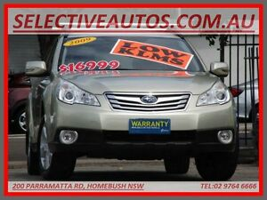 2009 Subaru Outback MY09 2.5I Gold 4 Speed Auto Elec Sportshift Wagon Homebush Strathfield Area Preview