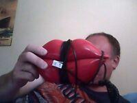 Retro Red Lips House Phone.
