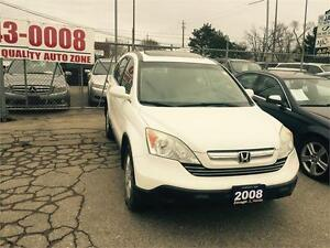 2008 Honda CR-V EX-L ,ACCIDENT FREE,LEATHER,SUNROOF,ALLOY RIMS,