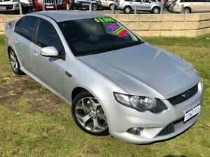 2010 Ford Falcon FG XR6 50th Anniversary Silver 6 Speed Sports Automatic Sedan Wangara Wanneroo Area Preview