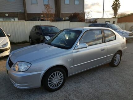 2004 Hyundai Accent LC GL Hatchback 3dr Auto 4sp 1.6i [MY04] Silver Automatic Hatchback