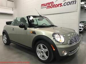 2009 MINI Cooper Convertible Heated Leather Saets